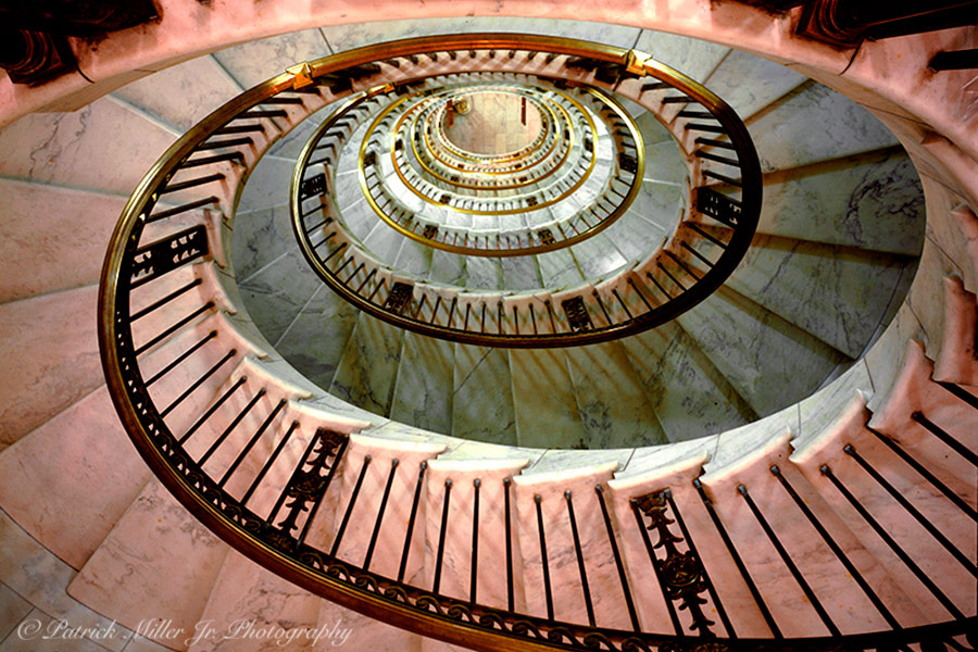 Oval Staircase United States Capitol Building Washington, DC