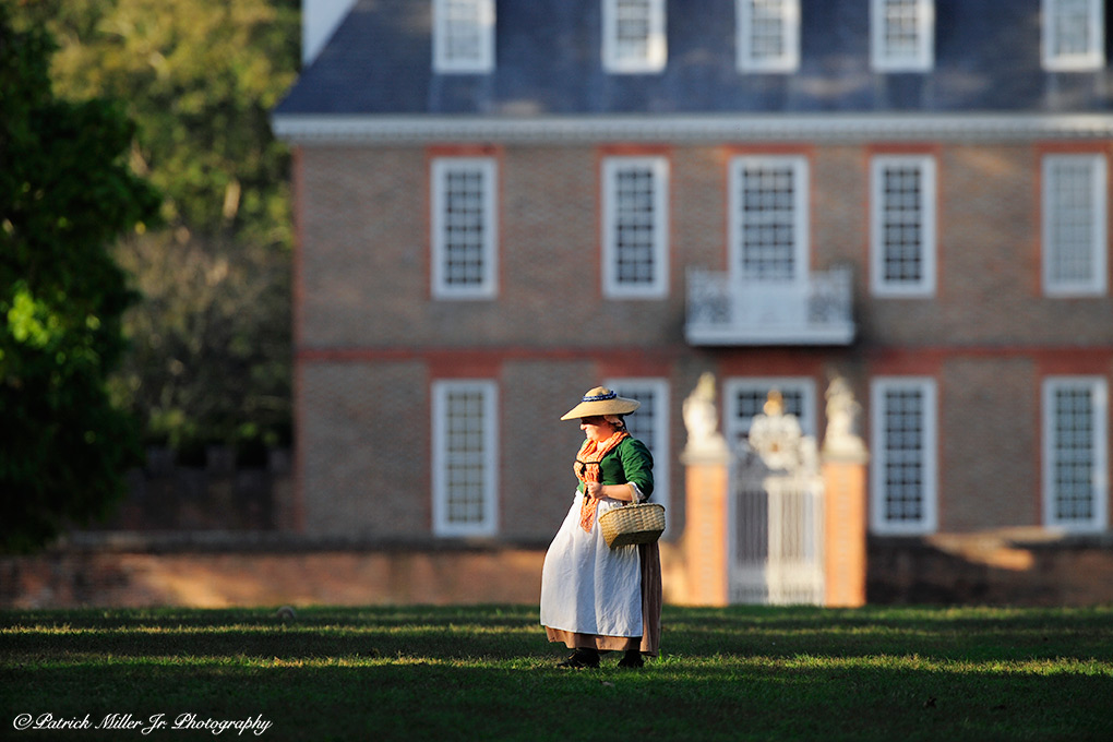 Colonial Williamsburg is recreated in modern times protecting this important part of American history
