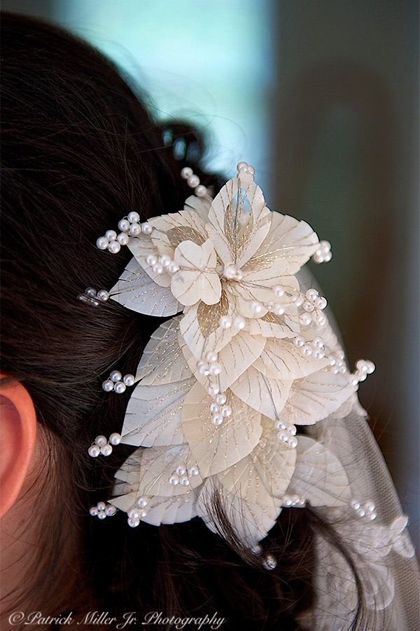 Bride with Flowers In Her Hair, CO