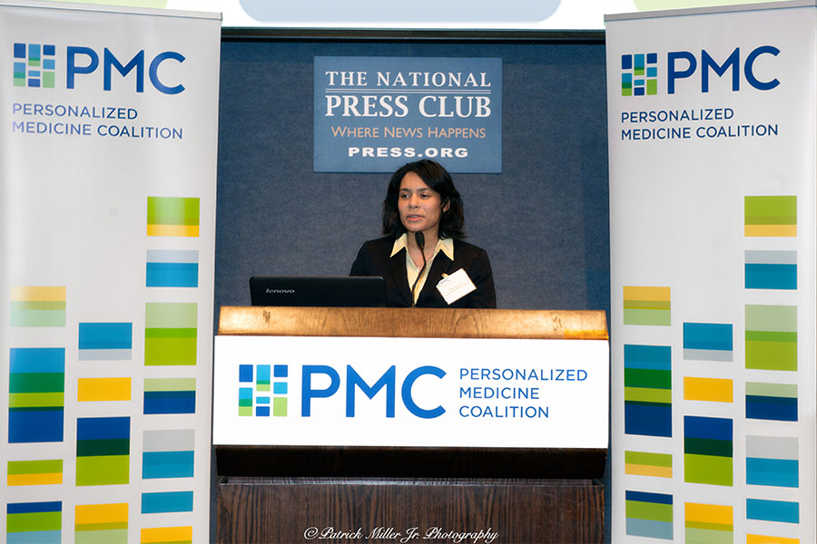 Personalized Medicine Coalition event at the Nation Press Club DC