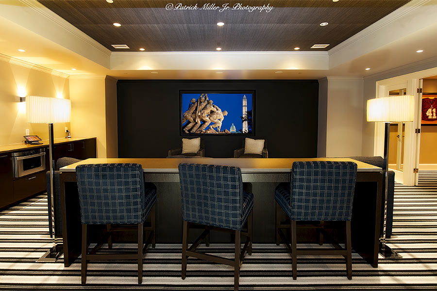 Commercial Interior Architecture Home Theater Room