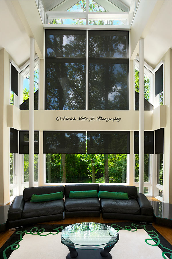 Commercial Interior Architecture Large Glass Plate Windows