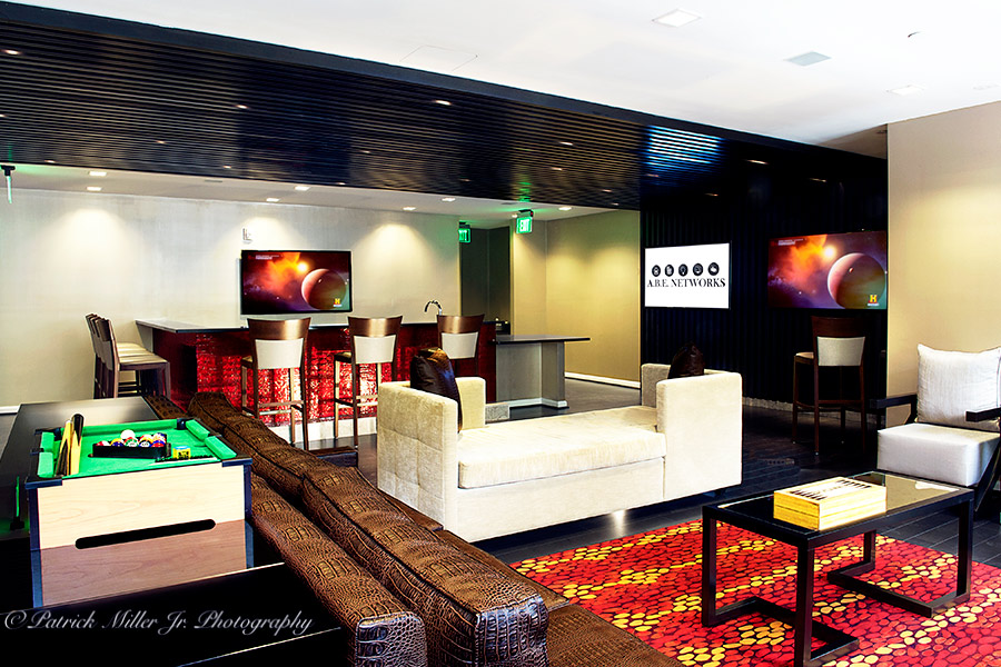 Commercial Interior Architecture Premier Game Room