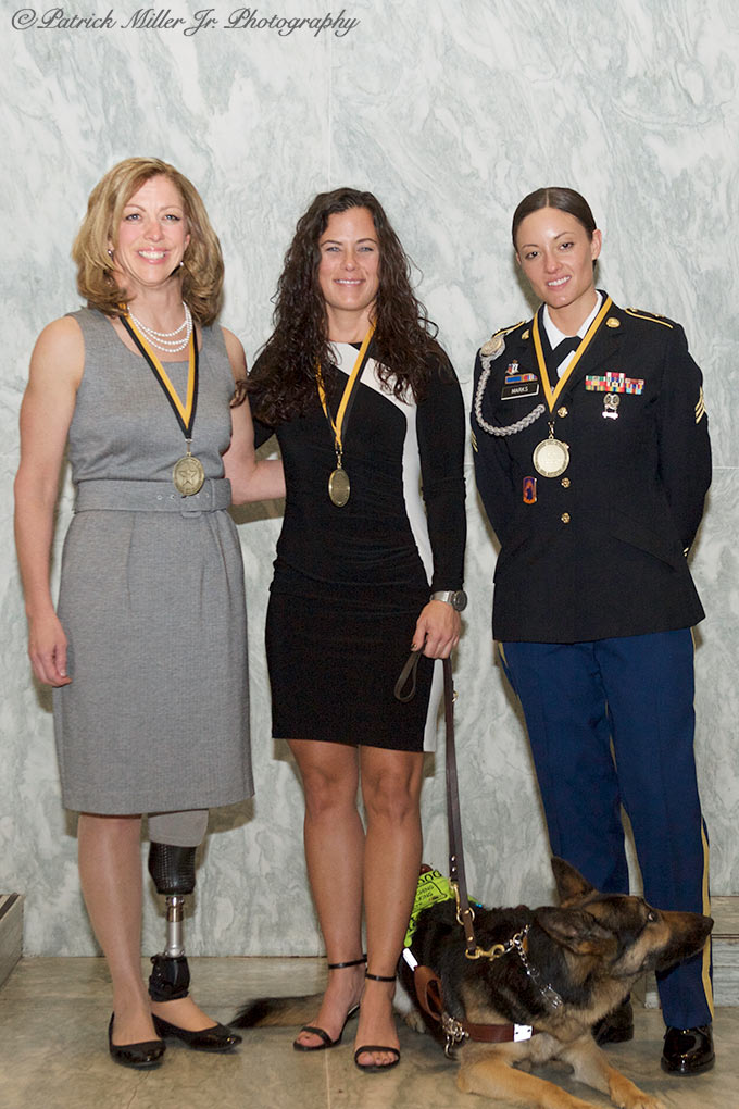 Wounded Army Women reception, Army Women's Foundation DC